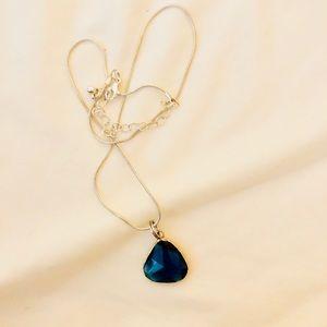 Jewelry - Set of 2 gemstone charm necklaces